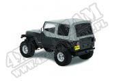 Plandeka Replace-A-Top z przyciemnianymi oknami/poszyciem drzwi Charcoal 88-95 Jeep Wrangler