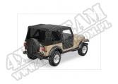 Plandeka Replace-A-Top z przyciemnianymi oknami/poszyciem drzwi Czarny Denim 88-95 Jeep Wrangler