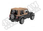 Plandeka Replace-A-Top z przyciemnianymi oknami/poszyciem drzwi Spice 97-02 Jeep TJ Wrangler