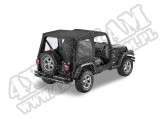 Plandeka Replace-A-Top Czarny Denim 97-02 Jeep TJ Wrangler