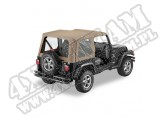 Plandeka Replace-A-Top ciemny Beż 97-02 Jeep TJ Wrangler