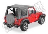 Plandeka ze stelażem Supertop Charcoal 97-99 Jeep TJ Wrangler