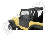 Element Nadstawki kowbojek Czarny Denim 80-86 Jeep CJ7/87-95 YJ Wrangler
