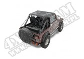 Daszek Bikini Top Czarny Siatkowy 76-91 Jeep CJ7 CJ8 i YJ Wrangler