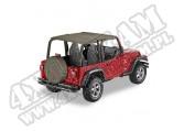 Daszek Safari Header Bikini Khaki Diamond 03-06 Jeep TJ Wrangler