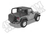 Daszek Header Bikini Czarny Diamond 07-09 Jeep 2 drzwiowy JK Wrangler