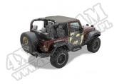 Daszek Header Bikini Khaki Diamond 07-09 Jeep 2 drzwiowy JK Wrangler
