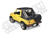 Plandeka Replace-A-Top Czarny 86-95 Suzuki Samurai