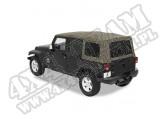 Plandeka ze stelażem Supertop NX Khaki Diamond 07-11 Jeep 4 drzwiowy JK Wrangler
