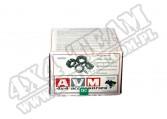 "Dystanse AVM 5x120 na 5x120 grubość 1.25"" (31,75mm)"