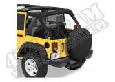 35 Inch Tire Cover Black Denim