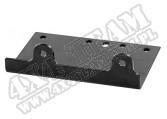 Winch Mounting Plate, 2000-2500 Lbs Winch; UTV