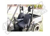 Neoprene Seat Cover Kit; Yamaha Rhino UTV
