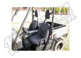 Seat Cover Kit, Fabric, Black; Yamaha UTV