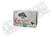 "Dystanse AVM 6x139,7 na 6x139,7 grubość 1.50"" (38,1mm)"