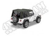 Plandeka PREMIUM z płótna Sailcloth Replace-A-Top Czarny Diamond 03-06 Jeep TJ Wrangler