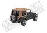 Plandeka PREMIUM z płótna Sailcloth Replace-A-Top Spice 97-02 Jeep TJ Wrangler