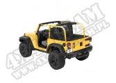Tylna osłona kabiny przed wiatrem Windjammer Czarny Diamond 07-12 Jeep JK Wrangler