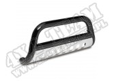 3-Inch Black Bull Bar, 07-11 Toyota FJ Cruiser