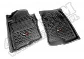 Dywaniki, przód, czarne, 05-13 Nissan Pathfinder/XTerra