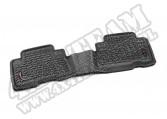 Dywaniki, tył, czarne, 07-14 Toyota FJ Cruiser ( autom. skrz. )