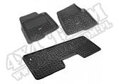 Zestaw dywaników czarny, 09-10 Ford F-150 Regular/SuperCab/SuperCrew
