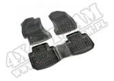 Zestaw dywaników, tył i przód, czarny, 14-15 Subaru Forester