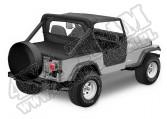Tylna osłona przestrzeni ładunkowej Duster Czarny Denim 80-91 Jeep CJ i Wrangler