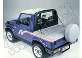 Tylna osłona przestrzeni ładunkowej Duster Charcoal 86-95 Suzuki Samurai