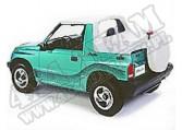 Tylna osłona przestrzeni ładunkowej Duster Biały 95-98 Geo Tracker i Suzuki Sidekick