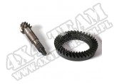Ring and Pinion, 4.56 Ratio, Front; 84-95 Jeep XJ/YJ, for Dana 30