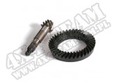 Ring and Pinion, 4.56 Ratio, Front; 97-06 Wrangler TJ/LJ, for Dana 30