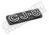 Emblem, CJ8; 81-86 Jeep CJ8 Scrambler