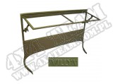 Windshield Frame, Willys Script; 46-49 Willys CJ2A