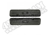 Engine Valve Cover Kit, Jeep Script; 72-91 CJ/YJ/XJ/SJ, 5.0L/5.9L/6.6L