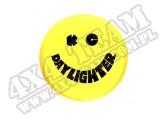 Osłona 6 cali sztuka Żółty uśmiech