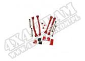 4 Inch Suspension Lift Components SkYJacker 07-12 Jeep JK Wrangler
