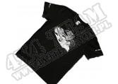 Bawełniany Tshirt 4x4 CZARNY rozmiar XL