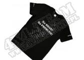 Bawełniany Tshirt 4x4 CZARNY rozmiar 3XL