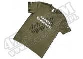 Bawełniany Tshirt 4x4 ZIELONY rozmiar 2XL